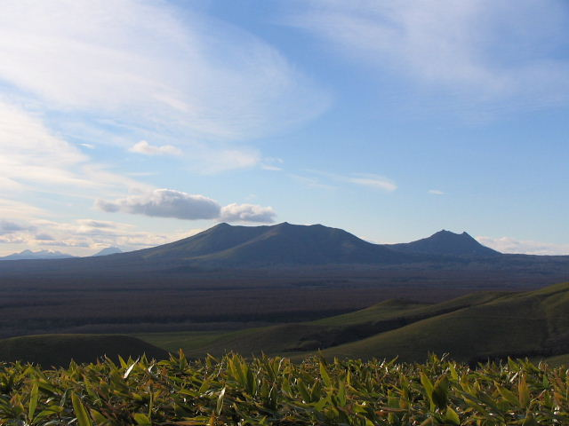 モアン山から撮影